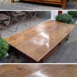 sold24 chestnut coffee table