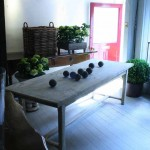 sold58 French farmhouse table in elm