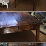 sold76 19c French fruitwood farmhouse table